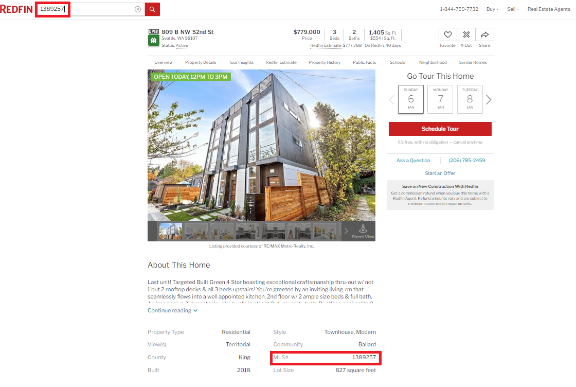 Searching for Homes – Redfin Customer Service