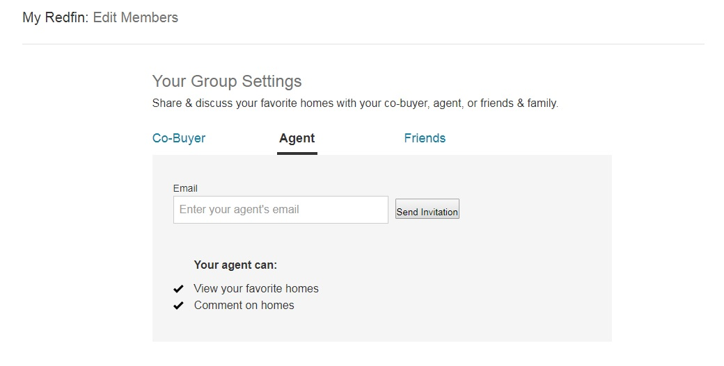 Shared Favorites – Redfin Customer Service